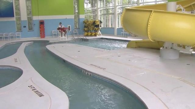 New swim space brings smiles