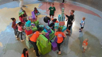 Marbles Kids Museum marked five years in Raleigh with a celebration Saturday. (Courtesy: Marbles)