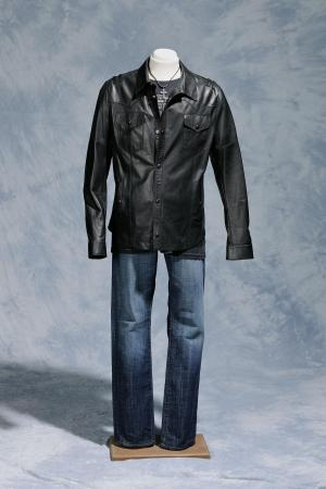 "Scotty McCreery wore this outfit when he sang his final duet on ""American Idol,"" ""Live Like You Were Dying,"" with country superstar Tim McGraw on May 25, 2011. It is on exhibit at the N.C. Museum of History. CREDIT: N.C. Museum of History"
