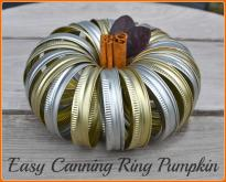 Easy Canning Ring Pumpkin