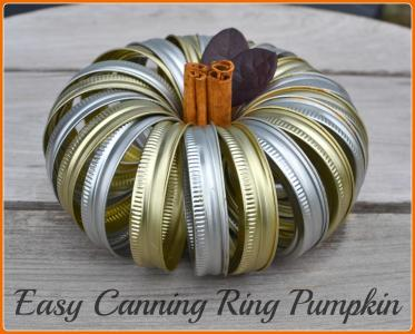 Easy Canning Ring Pumpkin Courtesy: In Lieu of Preschool blog