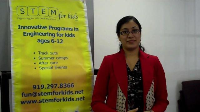 Moni Singh of STEM for Kids