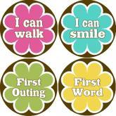 My Lullabug - milestone stickers