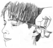 Illustration from How to Cut Children's Hair