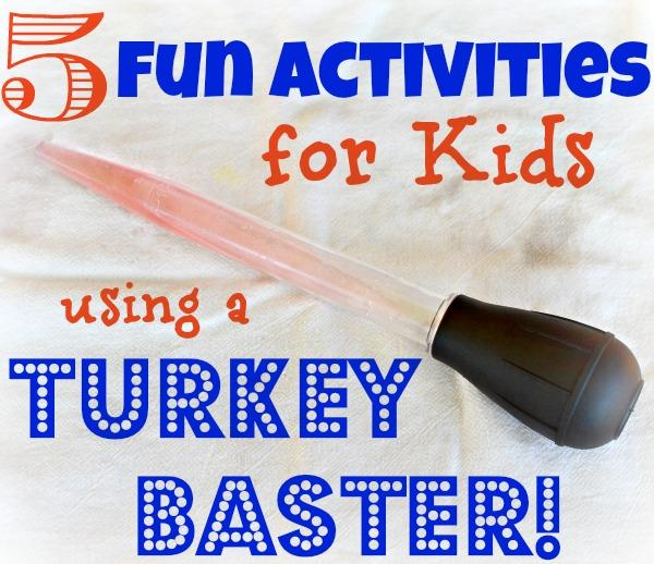 turkey baster activities
