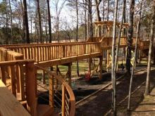 Three Bears Acre, a wildly fun outdoor play space that spans 50 acres and includes everything from a mud kitchen to a 300-foot slide, opened in October in northern Wake County.