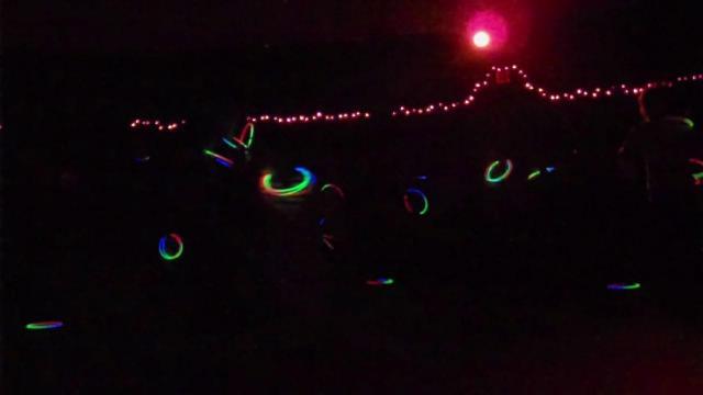 Sandbox band performs Blue Christmas at Morehead Planetarium and Science Center