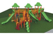 Conceptual view of new playground at Millbrook Exchange Park