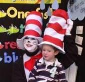 Cat in the Hat visits Northgate Mall on March 2