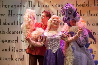 Rapunzel! A Very Hairy Fairy Tale will open the Storybook Theater series