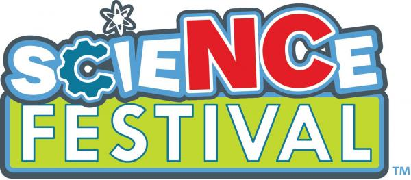 N.C. Science Festival logo, 2013