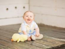 Camden Parker Glover, a winner of Go Ask Mom's Cutest Baby Contest