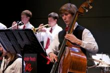 Triangle Youth Jazz Ensemble performs at the N.C. Museum of History on Mother's Day