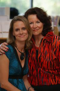Amanda Lamb with her mother