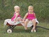 Haley and Riley Nogard, Go Ask Mom Cutest Baby winners