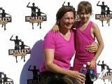 Stacy Lamb and her daughter in the Big Muddy Challenge
