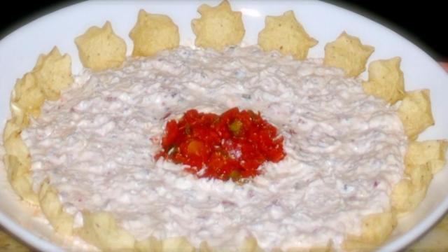 Touchdown Dip Courtesy: Boot Camp Moms