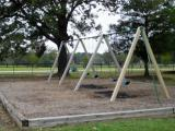 Swings at Centennial Park, Garner