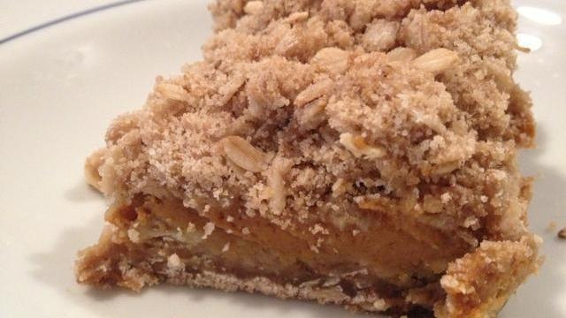 Pumpkin Pie Crumb Bar