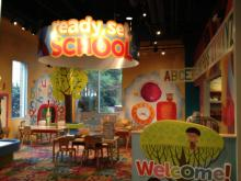 Marbles Kids Museum opens the new Ready, Set, School exhibit in its Around Town gallery. It's Marbles' version of a kindergarten classroom.