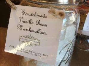 Huntington Kitchen marshmallows