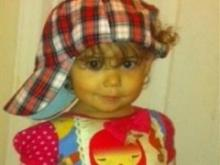 Vi, grand prize winner in the 13 to 24 month category of Go Ask Mom's Cutest Baby Contest