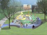 Plans for Mount Merrill at Durham Central Park