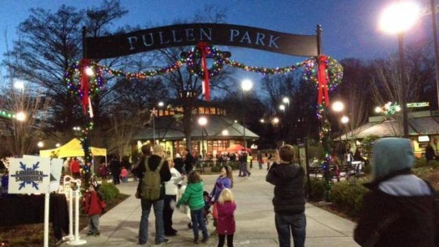 Holiday Express at Pullen Park