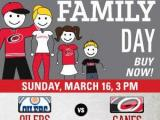 Family Day at the Carolina Hurricanes
