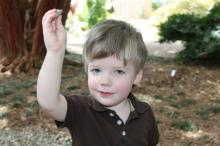 Henry Green, age 2