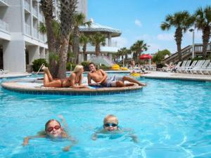 Pool at Crown Reef Resort, Myrtle Beach