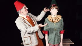 Phil Lewis as Gepetto and Parker Perry as Pinocchio