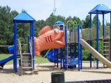The playground at Flaherty Park