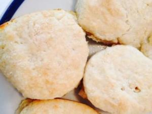 Lemon-lime soda biscuits