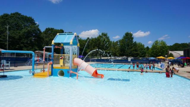 The city of Fayetteville has just one public pool.