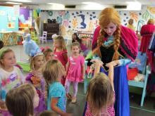 "The Raleigh-based company, founded by a local mom, will bring a ""princess"" to birthday parties and other celebrations."