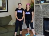 Jennifer Pinder and Kyle Furlow of Boot Camp Moms