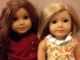 Rebecca, Kit await their trip to the American Girl store in Charlotte