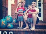 Kira Kroboth with her family