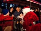Santa Train at the Museum of Life and Science