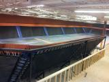 Trampolines installed for SkyZone in Durham.
