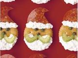 Santa snack crackers