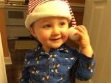 Jack, first place winner in the 13 to 24 month category in Go Ask Mom's Cutest Baby Contest