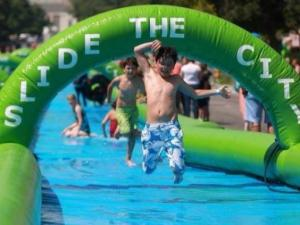 Slide the City could stop in Raleigh and Durham
