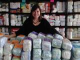 Michelle Old of the Diaper Bank of North Carolina