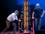 "The all-new, live stage show ""MythBusters Jamie & Adam Unleashed,"" starring Jamie Hyneman and Adam Savage, stops in Raleigh in April"