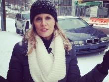 Amanda Lamb reports on the winter weather for WRAL-TV.
