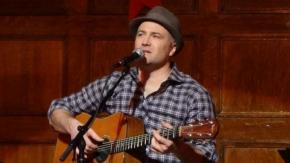 Preston Clarke performs at Bean Traders coffee in Durham