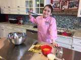 Chef Hannah at Flour Power Kids Cooking Studio