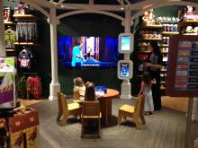 Revamped Disney Store at Crabtree Valley Mall in Raleigh